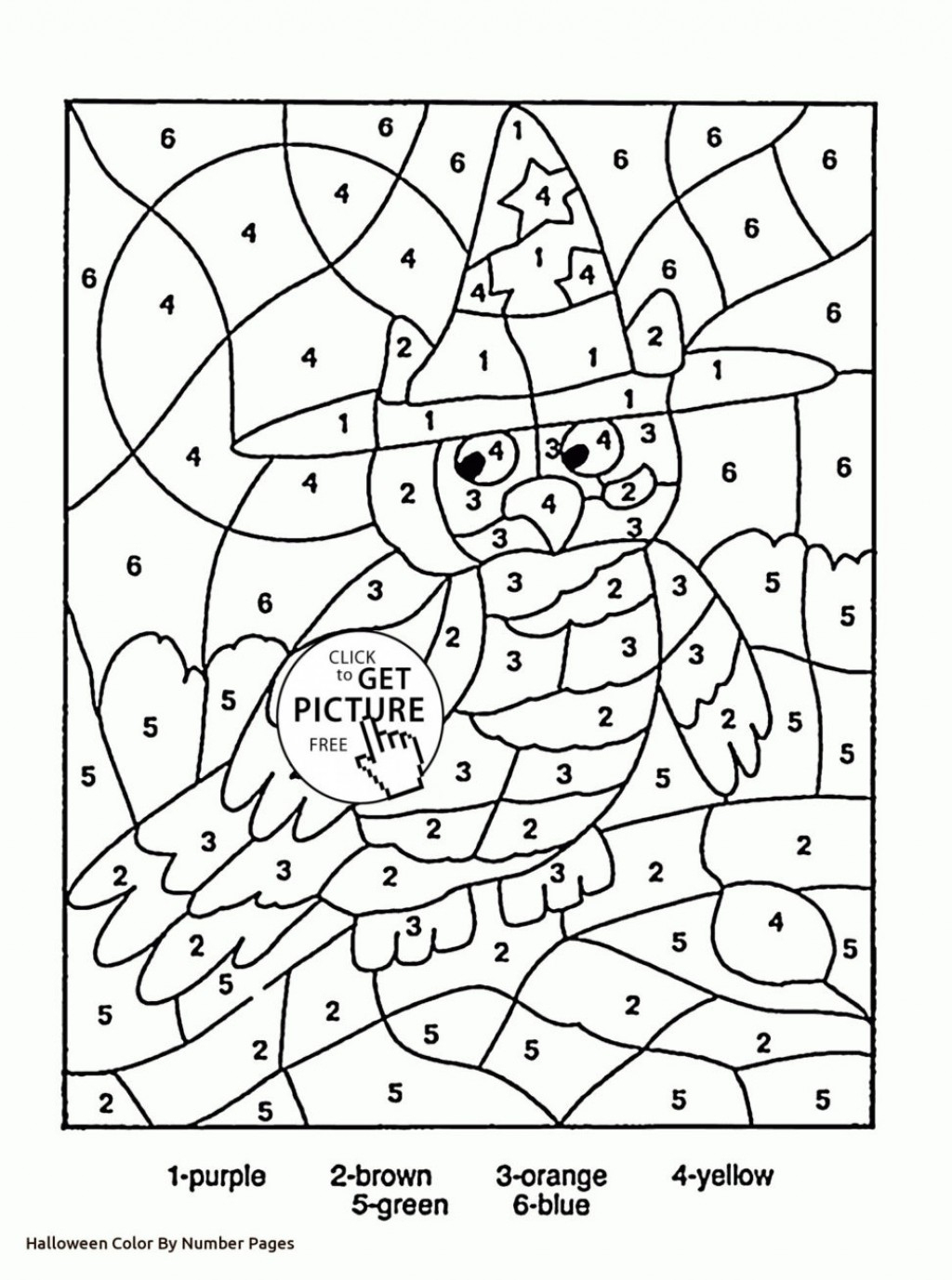 Color By Numbers Elephant Coloring Pages For Kids