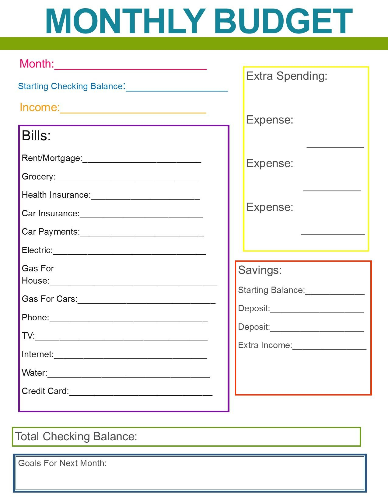 10 Budget Templates That Will Help You Stop Stressing