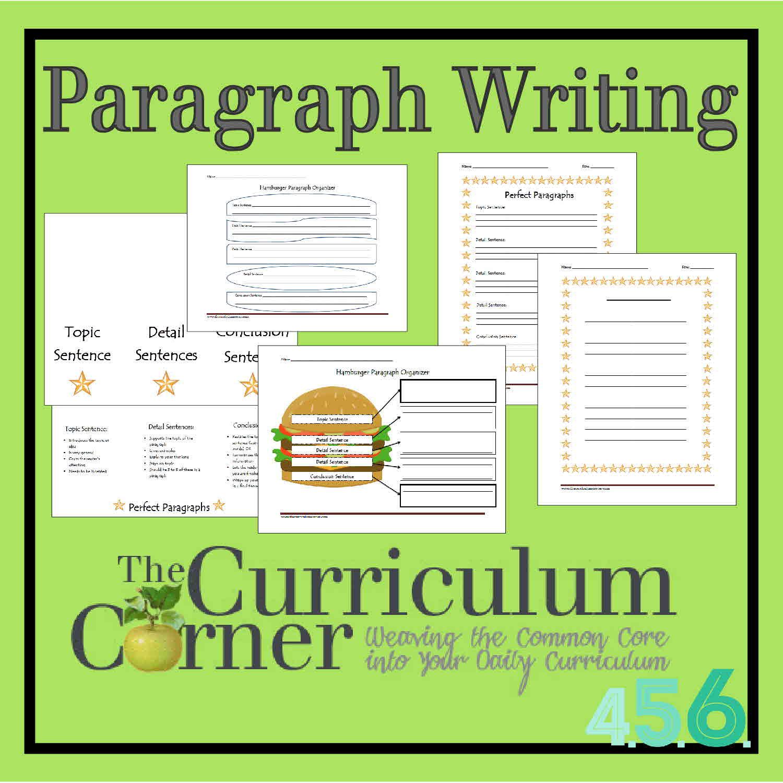 Writing A Topic Sentence Worksheet