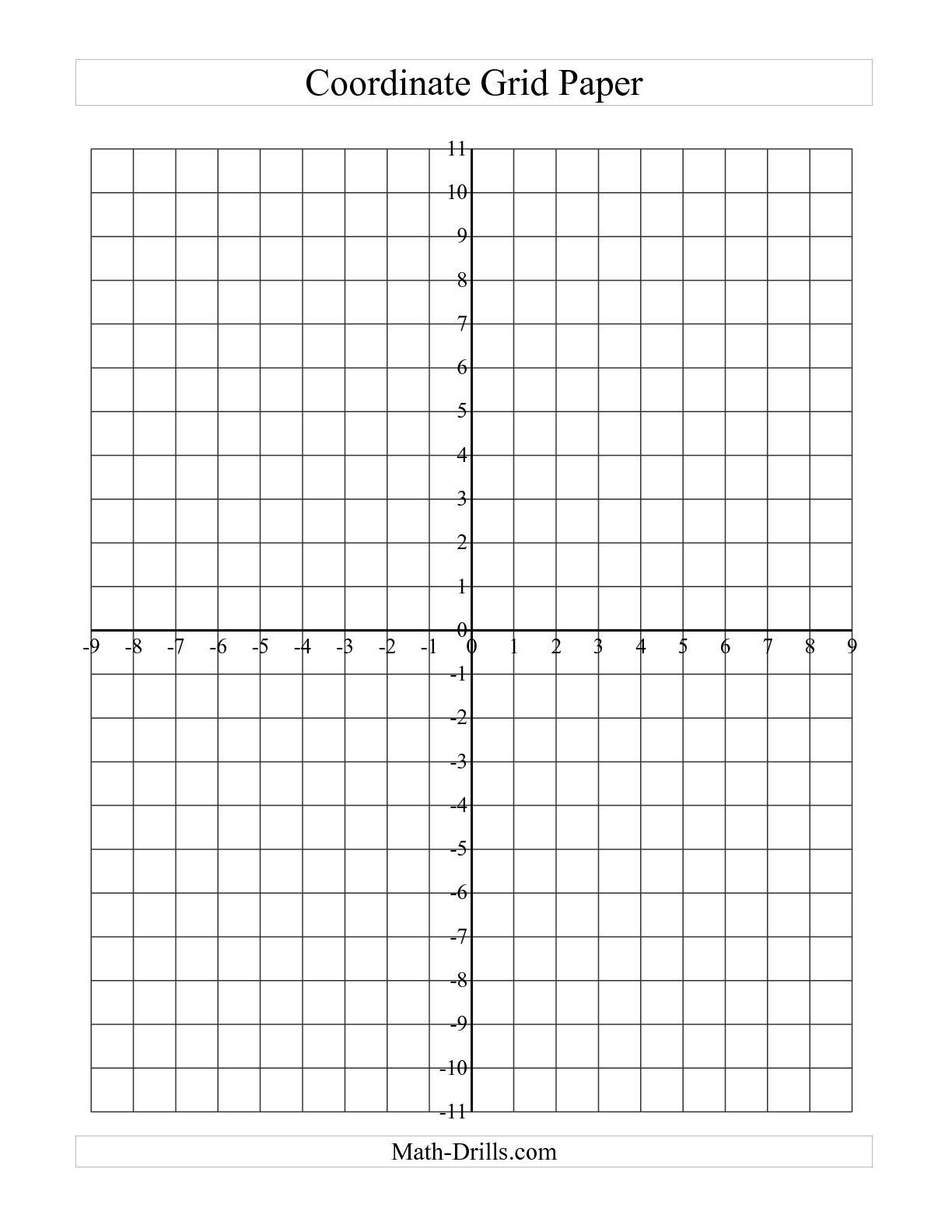 Math Blank Coordinate Plane Worksheet Hypeelite Graph