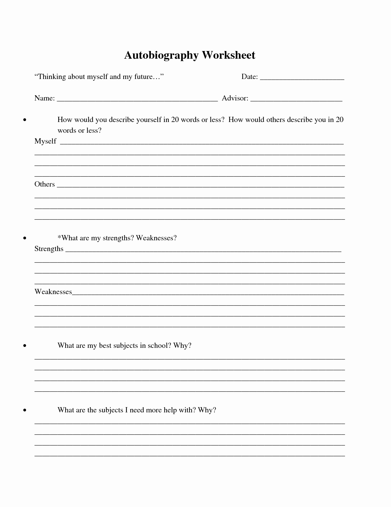 Worksheet Bio Poem Examples For Kids New Best S Of