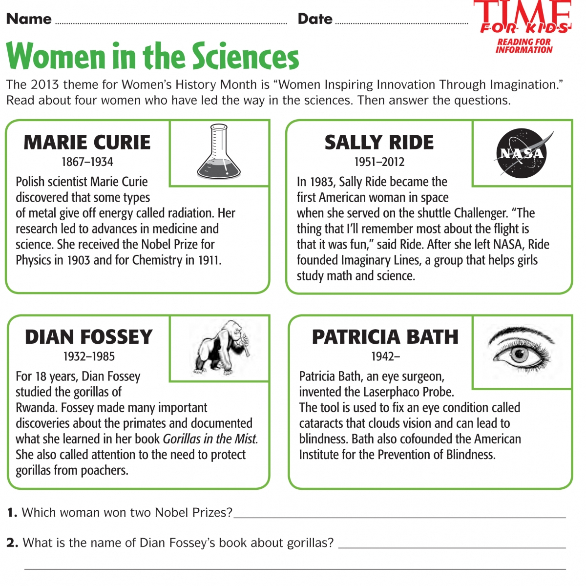 Social Stu S Amp Science Morning Work A Freebie And A