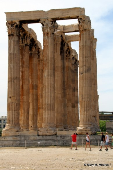 The Temple of Olympian Zeus