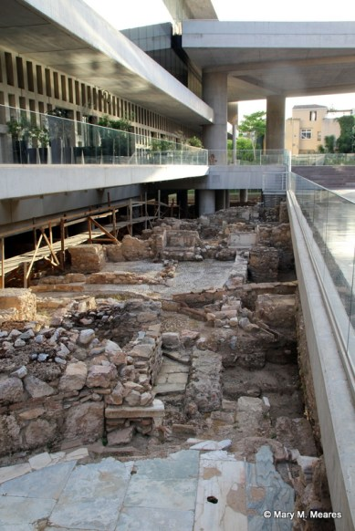 The Acropolis Museum, complete with an archaeological dig under the site!