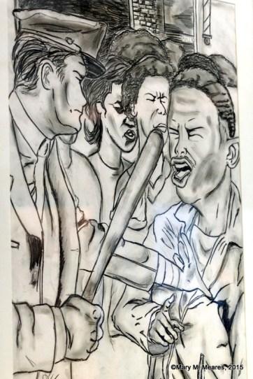 """Demanding Justice"" by Clifford Watkins, Junior, Huffman High School"