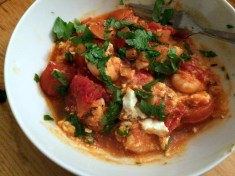 Prawn saganaki...love it.