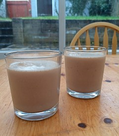 Nutella and banana milkshakes...is it sad to admit this was a weekend highlight?