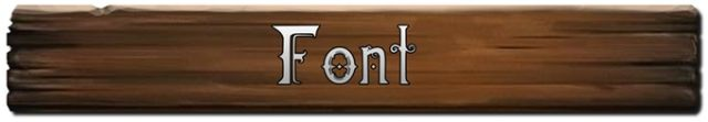 Dwarven Font