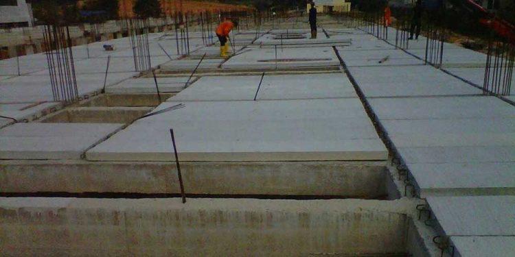 Atap beton cor