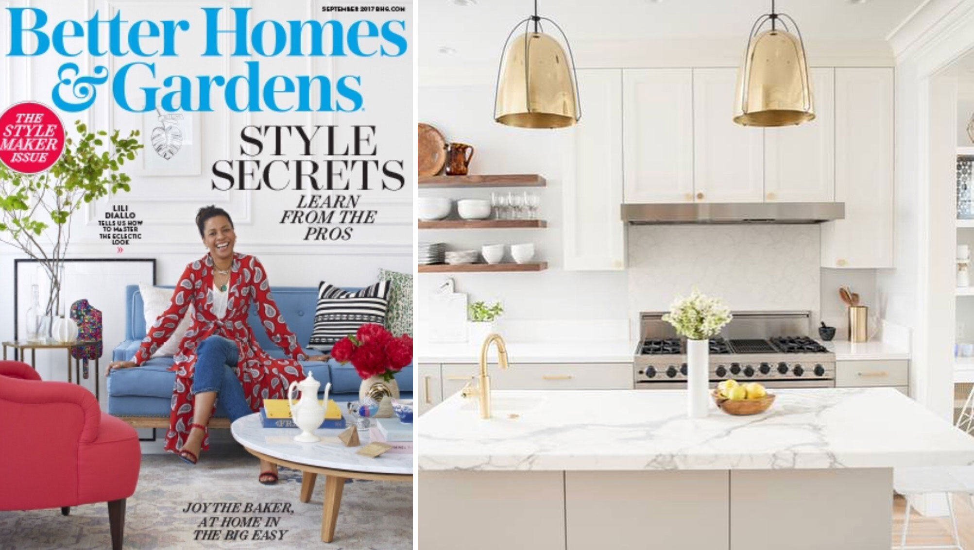 Better Homes And Gardens Interior Designer mas is honored to be featured in better homes & gardens' september