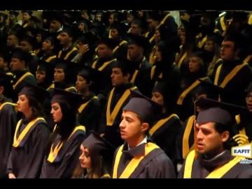 Grados de pregrado Universidad EAFIT 14 de Diciembre 2016. Hora: 4:00 p.m.