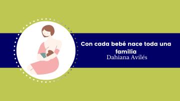 Con cada bebé nace toda una familia