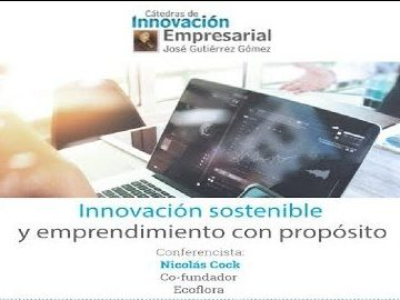 Innovación sostenible y emprendimiento con propósito