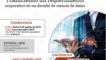 Traduciendo un requerimiento corporativo en un desafío de ciencia de datos