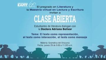 ClaseAbiertaAdrianaBolivar29Oct2020