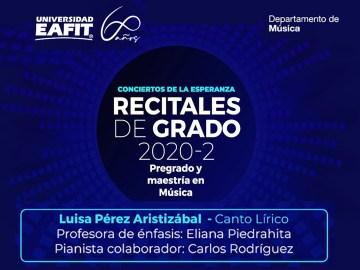 RecitalLuisaPerezAristizabal