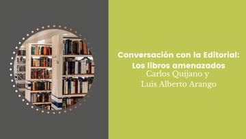 Conversación con la Editorial Los libros amenazados