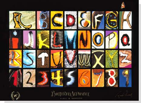 naturaleza sin alfabeto