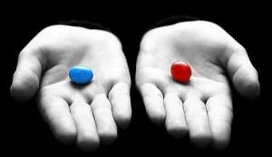 ¿Pastilla roja o azul?