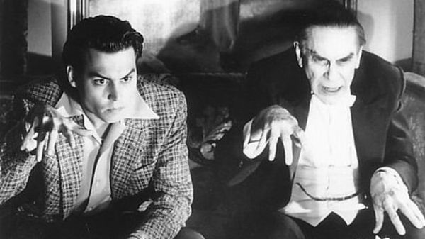 Johnny Depp en Ed Wood (1994)