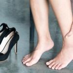 足のむくみは上げて寝るだけで予防できる?簡単に下半身ダイエット!