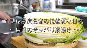 白菜 浅漬け 低糖質 レシピ
