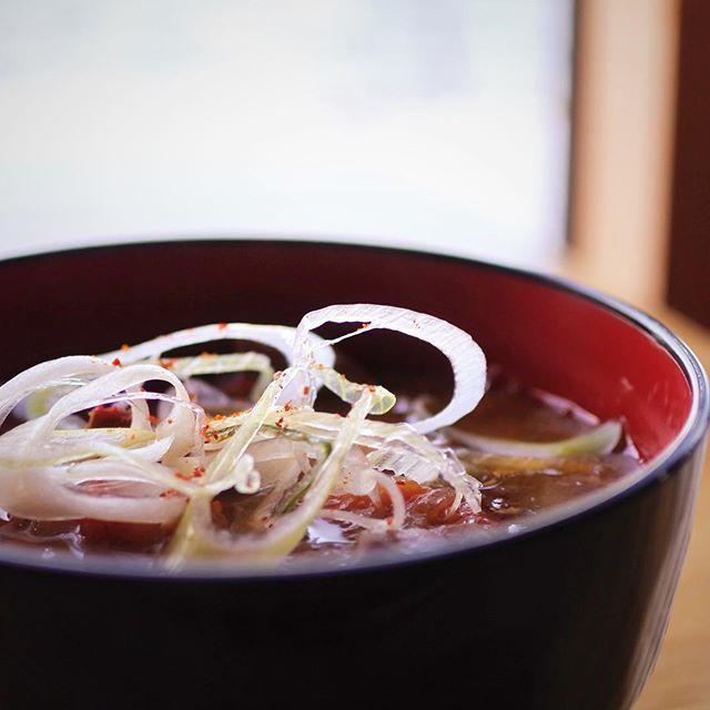 モツ煮のような旨さが味わえるスモークのスープを作りたい。#モツ煮 #hokkaido #sapporo #japan #yammy #instafood #follow #followme #instagood #food #instagram