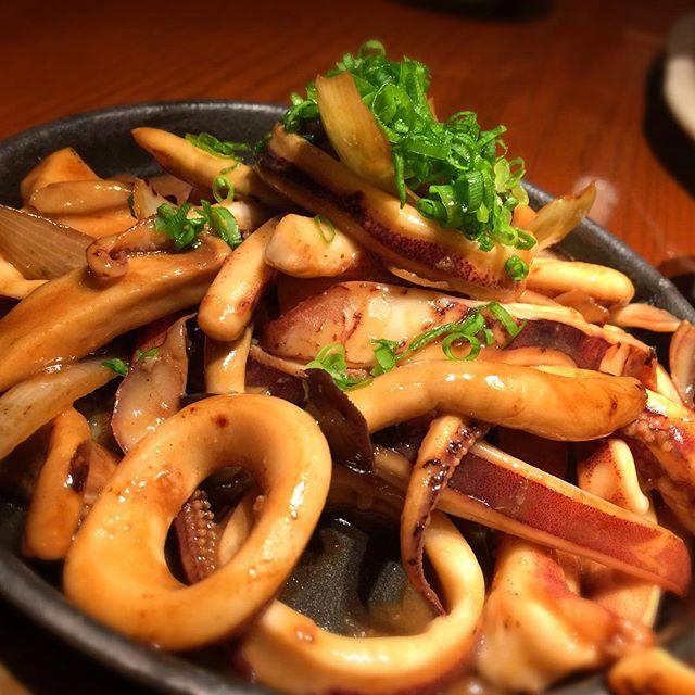 あぁ〜酒呑みの心に染みるいかごろやき!#いかごろやき #グルメ #hokkaido #sapporo #japan #yammy #instafood #follow #followme #instagood #food #instagram