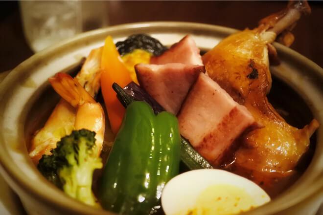 札幌スープカレー傾奇の傾奇者カレー