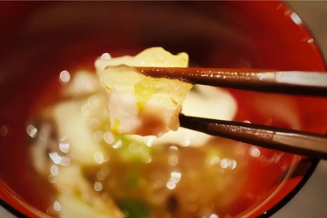 雷井土音 桜鯛とふきのとうの煮凝り