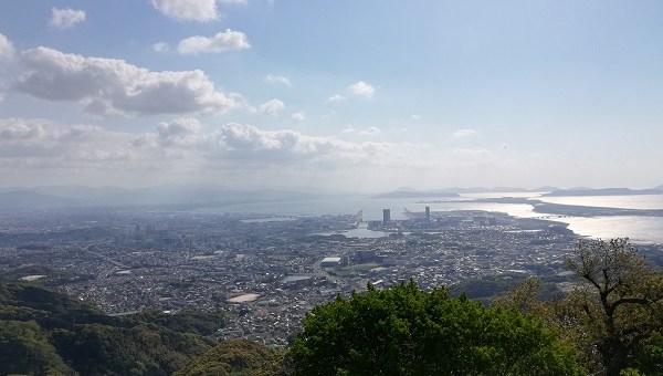 立花山山頂からの展望