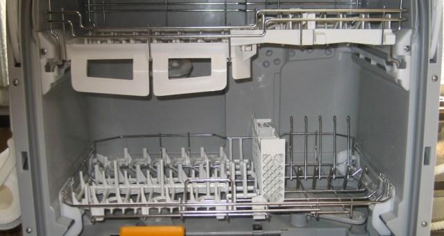 パナソニックの食器洗い乾燥機の庫内
