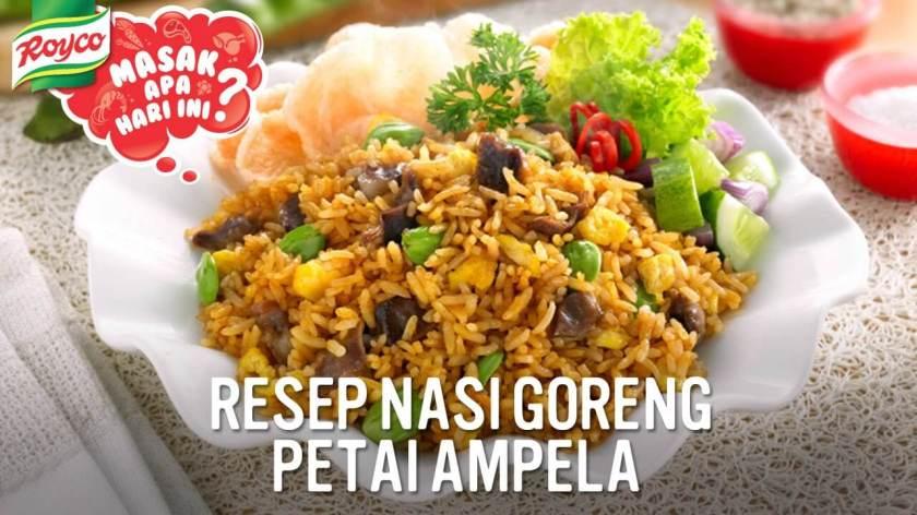 14. NASI GORENG PETAI AMPELA