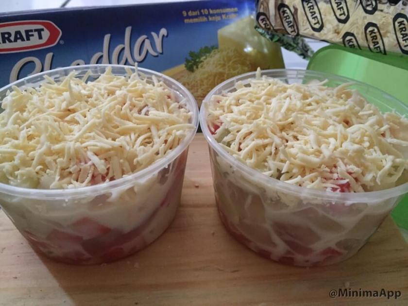 4. Resep Salad buah