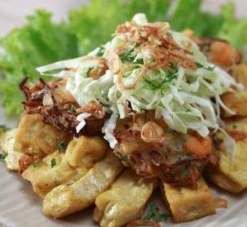 Resep Masakan Indonesia Tahu Gimbal Bakwan Udang