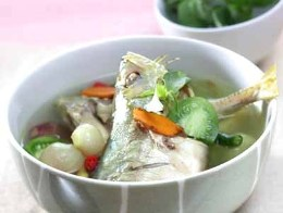 Resep masakan ikan kembung kuah pindang