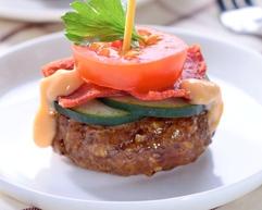 Resep Masakan Cheesy Burger Tomato Bites