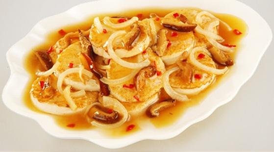 Resep Masakan Tahu Jamur Shitake
