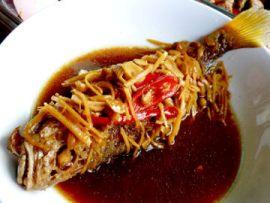 resep masakan khas indonesia ikan tenggiri masak ceng cuan