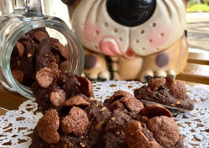 Resep coco crunchy cookies