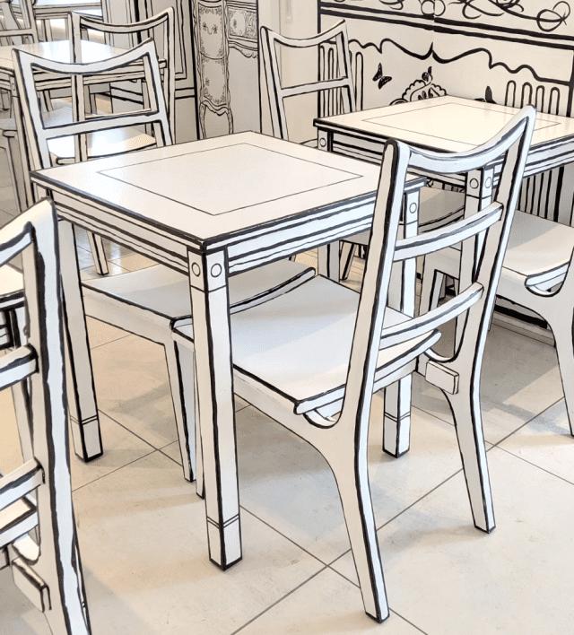 Удивительное 2D-кафе в Токио выглядит как иллюстрация, но это настоящий ресторан!