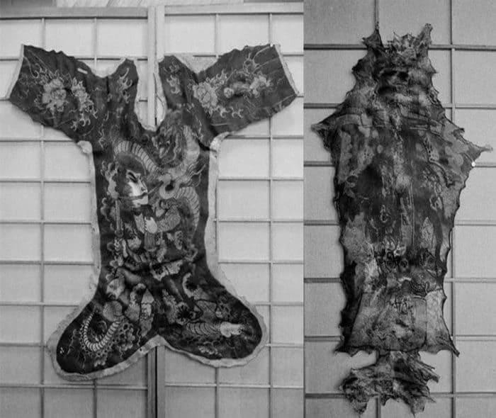 Коллекция сохранившихся человеческих шкур 4