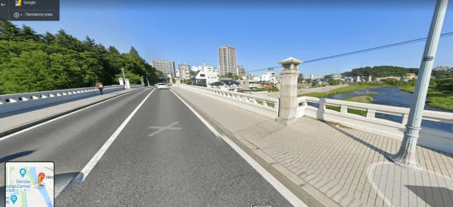 Мост Nakanosebashi
