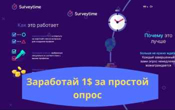 Отзывы о опроснике Surveytime.io - получи деньги сразу!