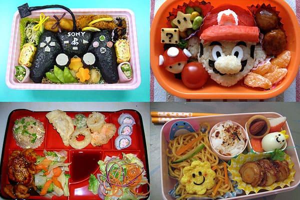 Бэнто, или японский обед из коробки.