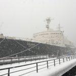 雪のムルマンスク