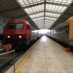 スペインからポルトガルへ鉄道で移動