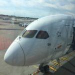 オランダから日本へ空路で移動(帰国)
