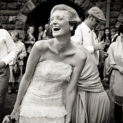 1940s bridal gown