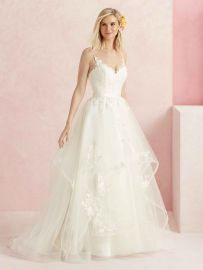 BL219 Sweet wedding dress front